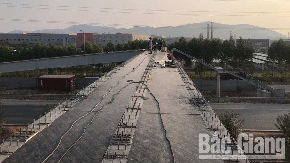 Dự kiến 22-12 sẽ đưa vào sử dụng cầu vượt cao tốc Hà Nội – Bắc Giang và quốc lộ 37